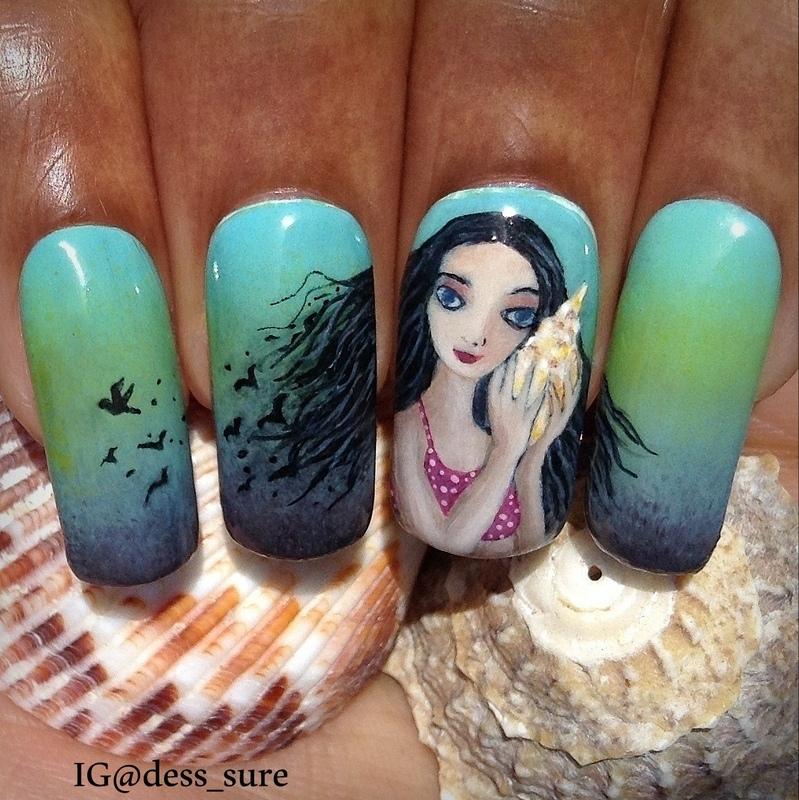 Wild Child nail art by Dess_sure