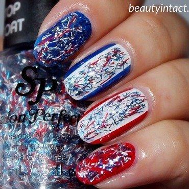 4th July Nails nail art by Beauty Intact
