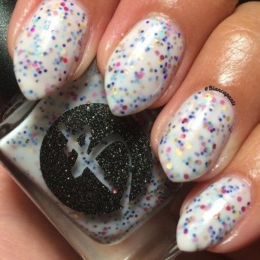 Bliss Polish Oh My Confetti Swatch by Bianca  Pants