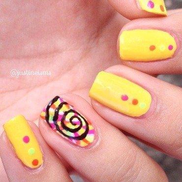 Summer Lollipop nail art by ℐustine