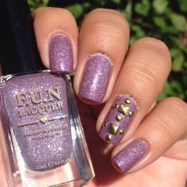 Fun Lacquer Storm Swatch by anas_manis