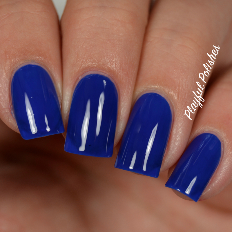 Londontown Beau of the City Swatch by Playful Polishes