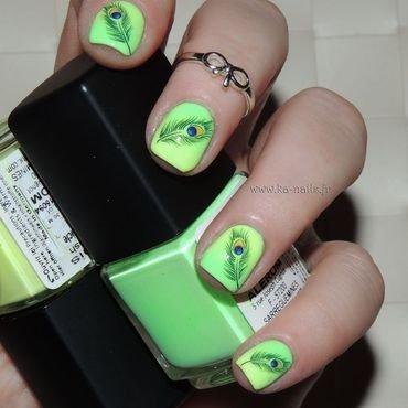 Paonisation Verniesque nail art by Ka'Nails
