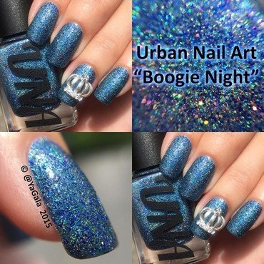 Urban Nail Art (UNA) 'Boogie Night' Swatch by Lou