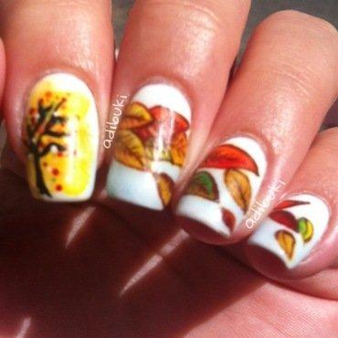 Fall Nail Art nail art by Adi Buki