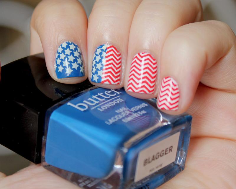 4th of July Nails nail art by Moriesnailart