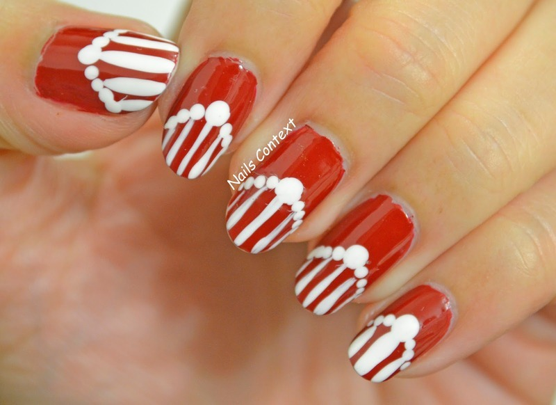 Seeing Red nail art by NailsContext