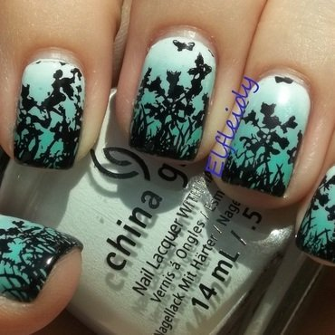 Stamping Sunday 7-05-2015 nail art by Jenette Maitland-Tomblin