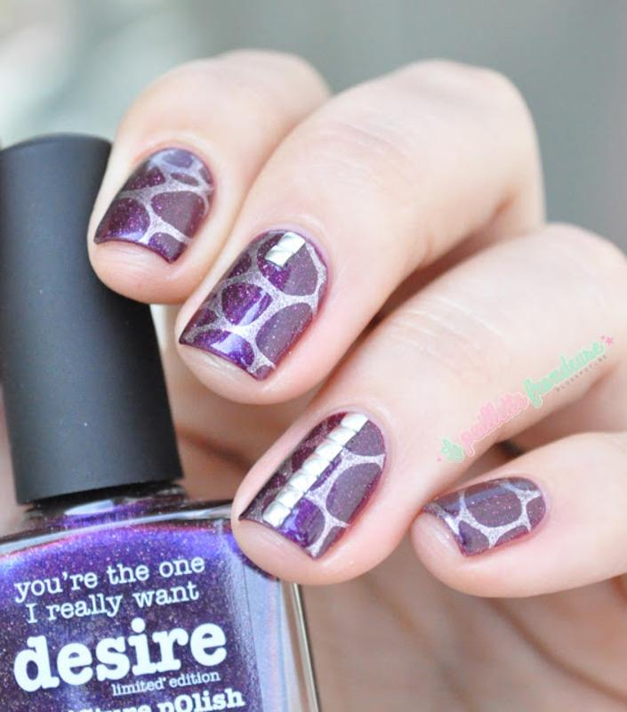 false blobbicure nail art by nathalie lapaillettefrondeuse
