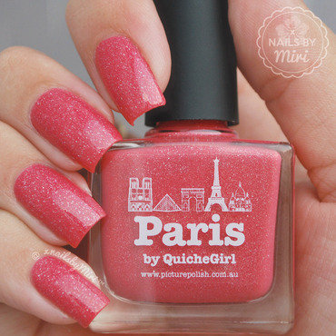 piCture pOlish Paris Swatch by xNailsByMiri