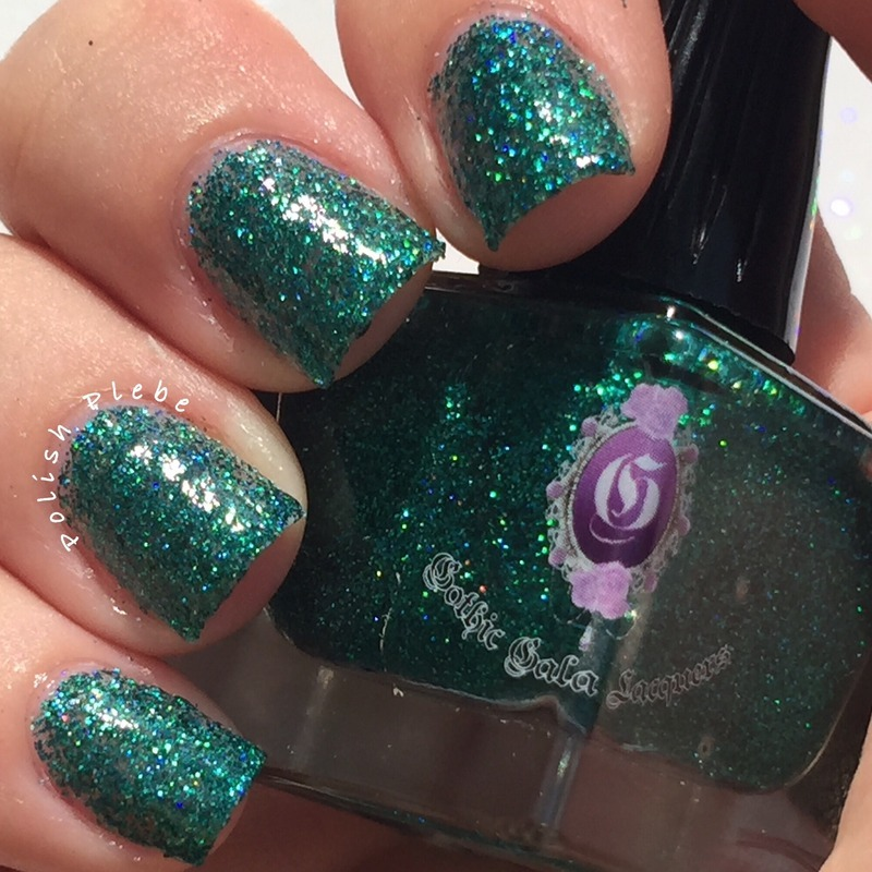 Gothic Gala Lacquers Sounds of Science Swatch by Crystal Bond