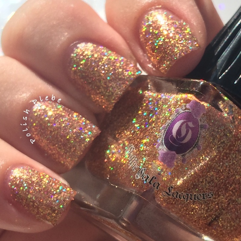 Gothic Gala Lacquers Weird Science Swatch by Crystal Bond
