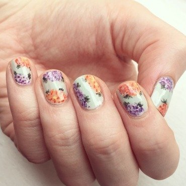 Spring Florals Inspired by mrcandiipants nail art by emlocke