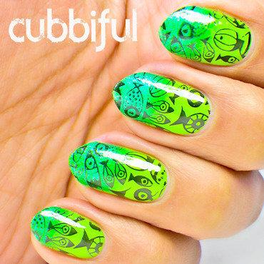 Summer ocean nails thumb370f