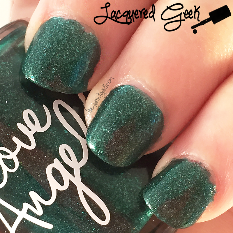 Love, Angeline Emeralds are a Girl's Best Friend Swatch by Kim (Lacquered Geek)