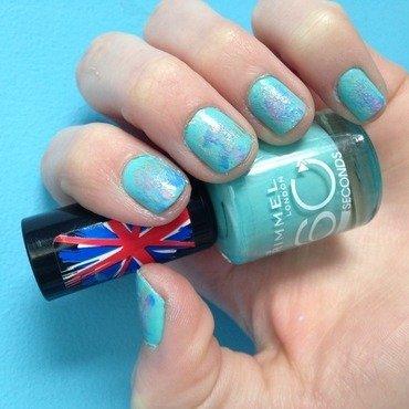 Swipe and Go nail art by Nailsofmel