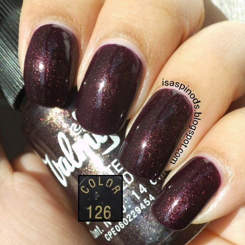 Valmy Espacial 126 Swatch by Isabel