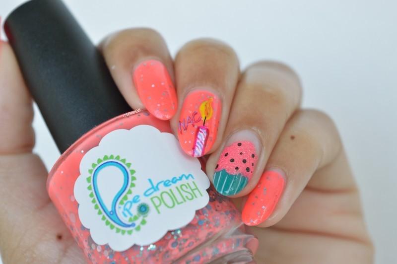 Happy Birthday !! nail art by MimieS Nail - Nailpolis: Museum of ...