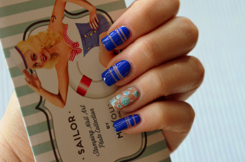 Hey Sailor #2 nail art by 9th Princess