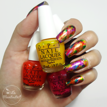 Let's play with OPI!  nail art by its_manitastic