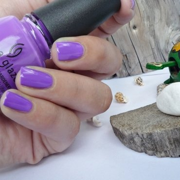 China Glaze plur-ple Swatch by Romana