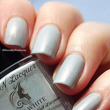Fun Lacquer Snow White Swatch by Dorothy NailAssay