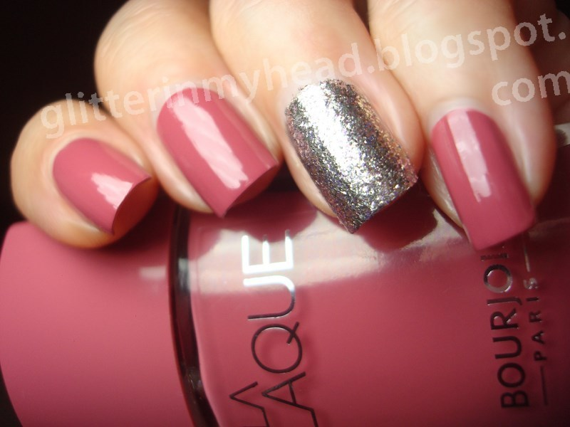 Lychee in the moonlight nail art by The Wonderful Pinkness
