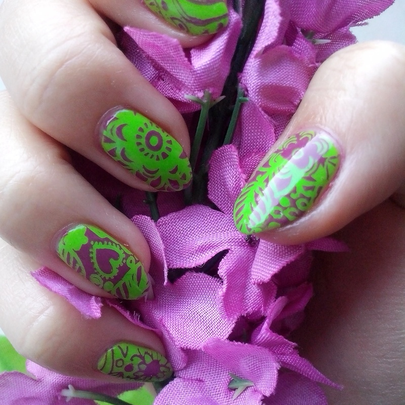 #3 nail art by Lyanna