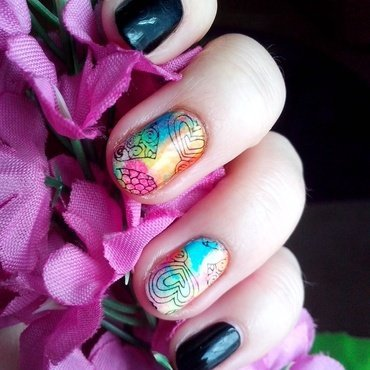 #6 nail art by Lyanna