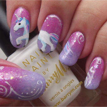 I Dream Of Unicorns!! nail art by Ithfifi Williams