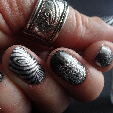 Nail Art A England nail art by Virginie
