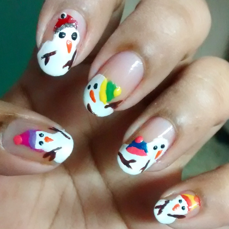 Melted Snowman..!!! ❄💅💕 nail art by Sohini Sengupta - Nailpolis ...