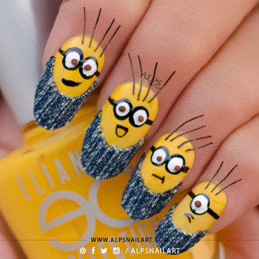 3d minion nail art2 thumb370f