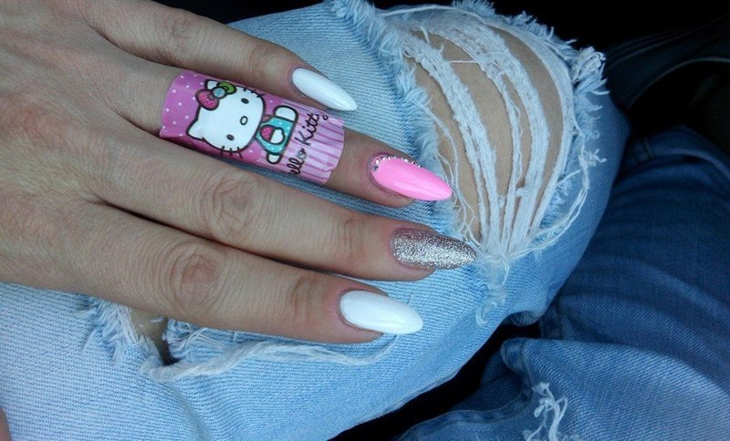 Sweet. nail art by Paula215. NAILS