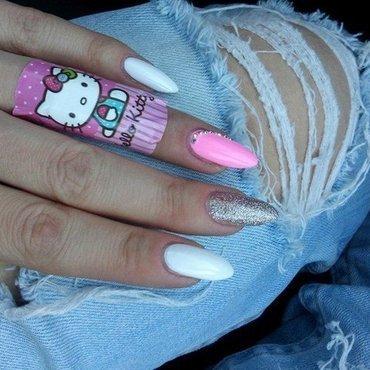Sweet. nail art by Paula215. NAILS
