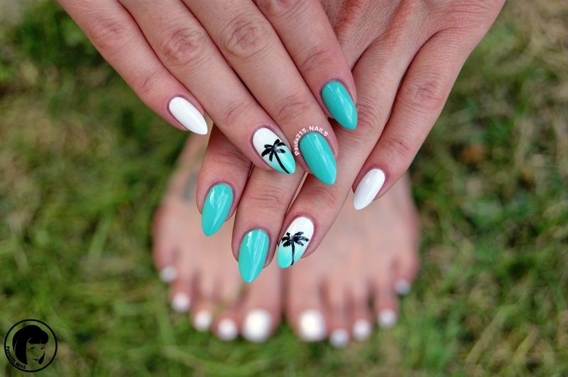Summer Nails. nail art by Paula215. NAILS