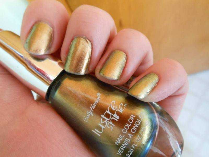 Sally Hansen Luster Shine Plume Swatch by Cecilia Brown