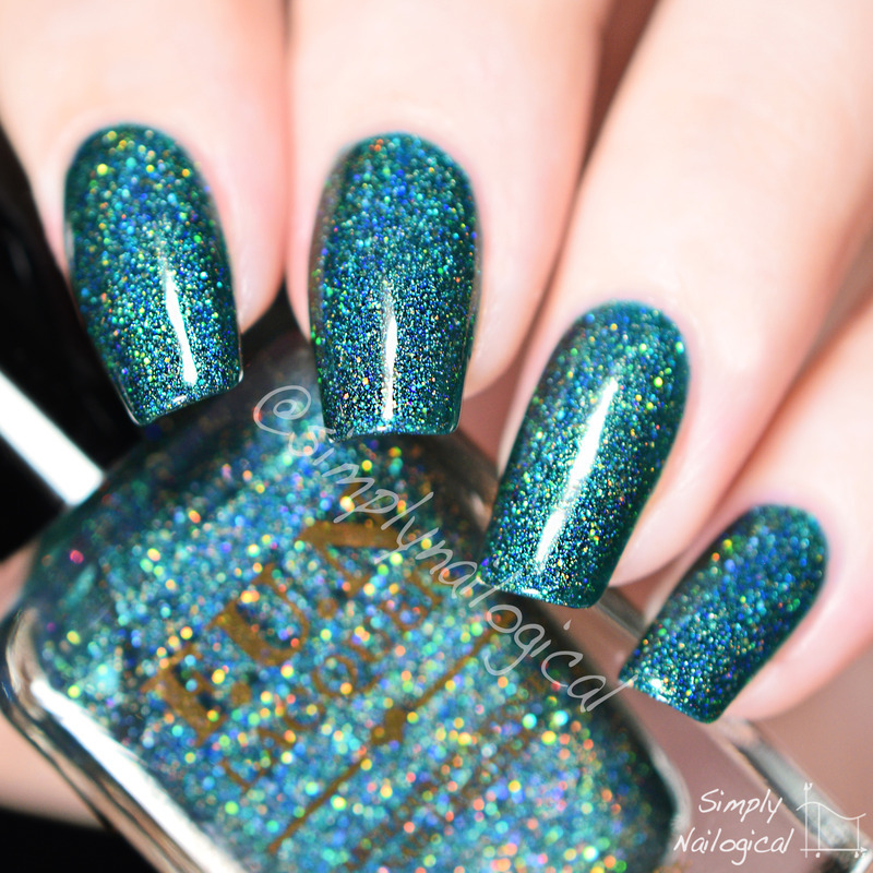 Fun Lacquer Glitzy Glam Swatch by simplynailogical