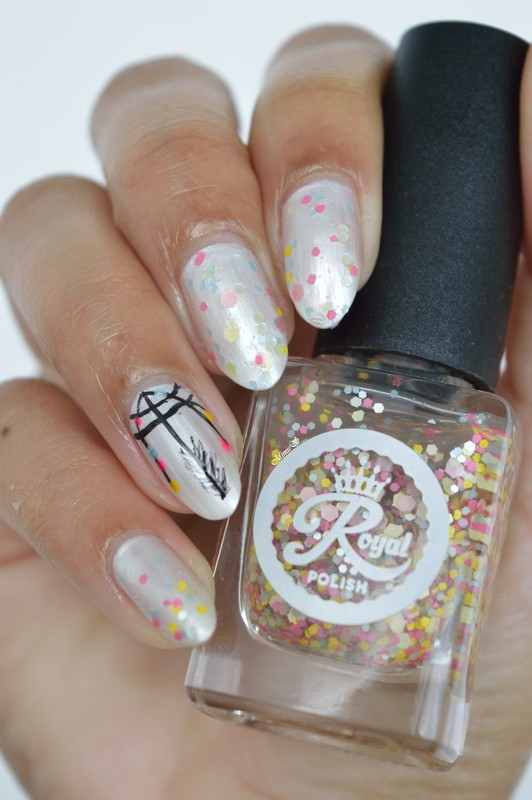 Dreamcatcher nail art by MimieS Nail