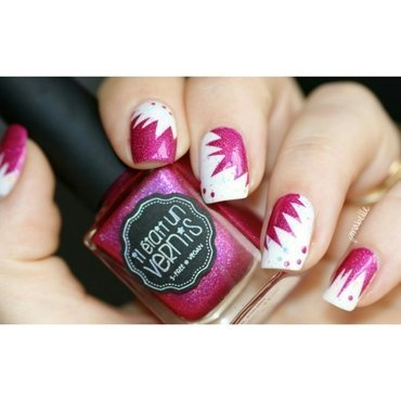 kaboom  nail art by Pmabelle