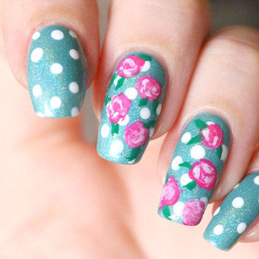 Nail art liberty tuto faire des roses au vernis video youtube music box ilnpdotting tool go ginza essie 7 thumb370f