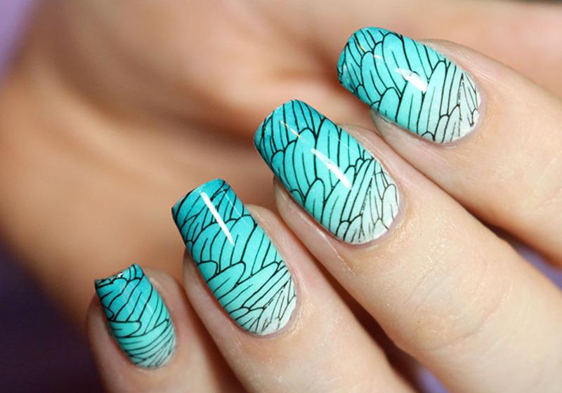 Hermès nail art by Tribulons