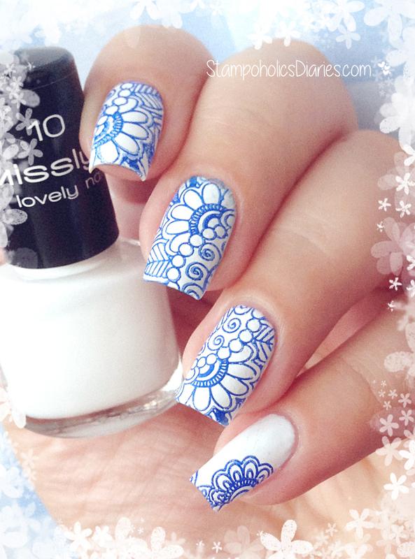 White Nails Nail Art By Natasha