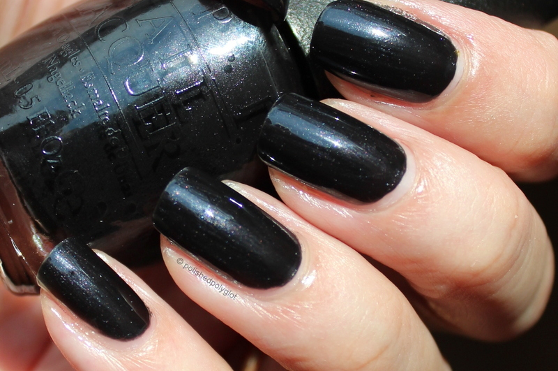 OPI My Gondola or yours Swatch by Polished Polyglot