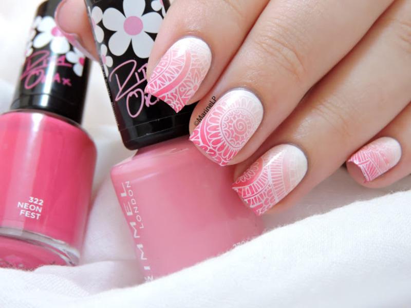 Shangri-La nail art by Marine Loves Polish