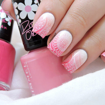 Shangri-La nail art by Marine Loves Polish
