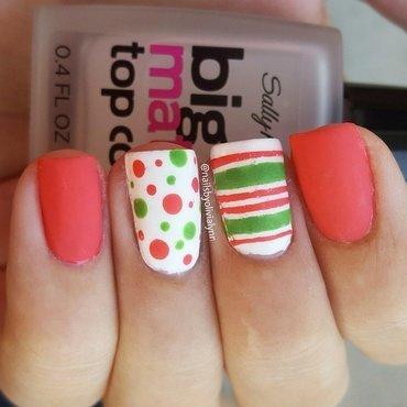Mix & Match nail art by Olivia D.