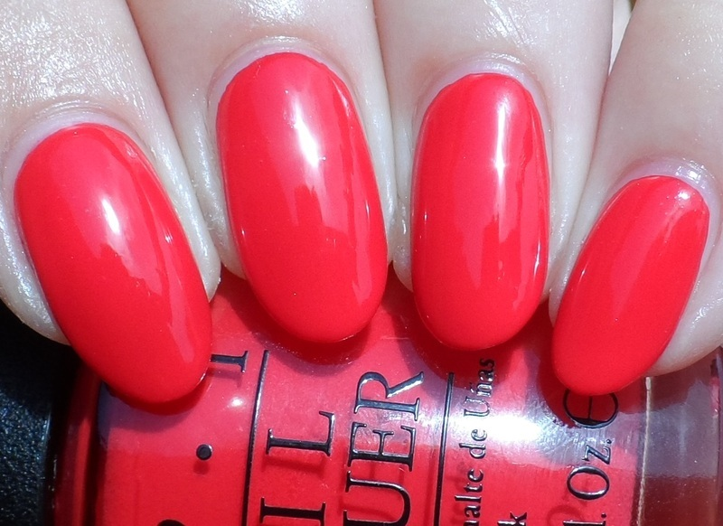 OPI Coca Cola Red Swatch by Plenty of Colors