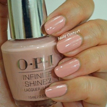 OPI Infinite Shine You Can Count On It Swatch by NailsContext