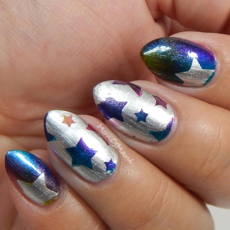 Starz nail art by Moni'sMani